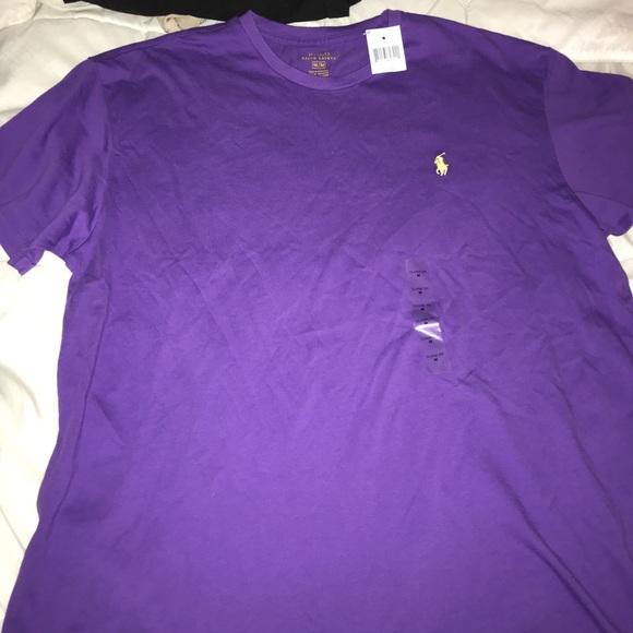 4aff0e8c Polo by Ralph Lauren Shirts | Purple Polo T Shirt Mens | Poshmark